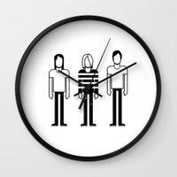 nirvana Wall Clocks featuring Nirvana by Band Land