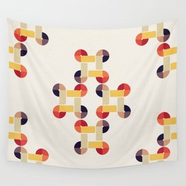 'round and 'round Wall Tapestry
