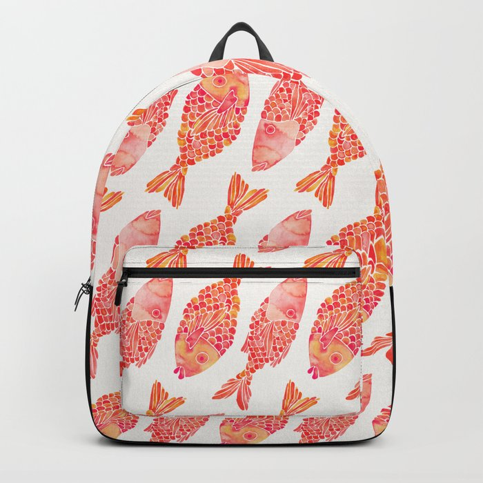 Indonesian Fish Duo – Melon Palette Backpack