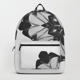 Grunge Christmas Snowflake Backpack