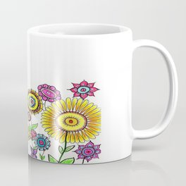 Bright Flowers II Coffee Mug