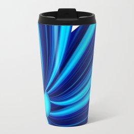 Abstract blue 208 Travel Mug