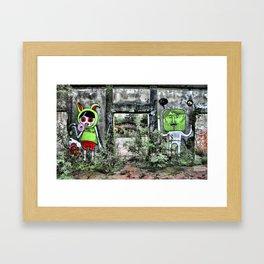 Urban decay Framed Art Print