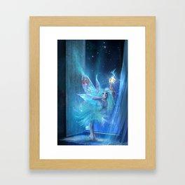 The Blue Fairy Framed Art Print