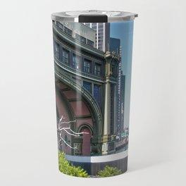 Lower Manhattan, Battery Ferry Terminal Travel Mug