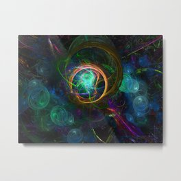 Consciousness Realized Metal Print