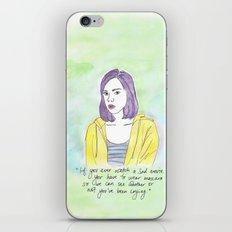 April Ludgate iPhone & iPod Skin
