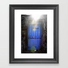 Don't Be Blue Framed Art Print
