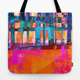 new city one Tote Bag