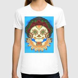 Dia de los Muertos Senora de las Rosas / Day of the Dead Lady of the Roses T-shirt