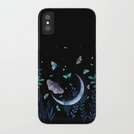 Moth Garden iPhone Case
