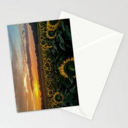 Sunrise Over Kansas Stationery Cards