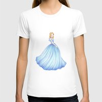 cinderella T-shirts featuring Cinderella by Maëlle Rajoelisolo