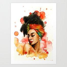 Loredana Art Print