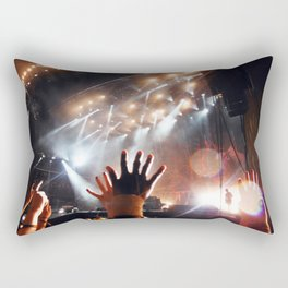 Music Scene - Leeds Festival 2013 - Biffy Clyro Rectangular Pillow