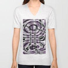 Abstract 360 Unisex V-Neck