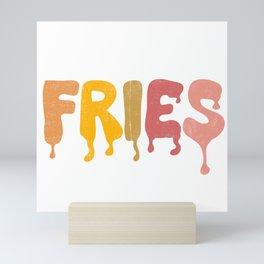 FRIES Mini Art Print