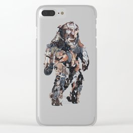 Catsquatch II Clear iPhone Case