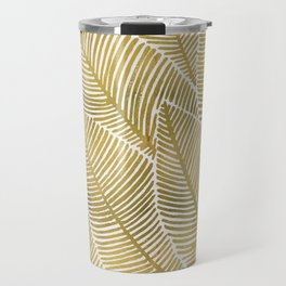 Tropical Gold Travel Mug