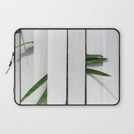 Green behind Laptop Sleeve