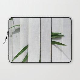 Green behind Laptop Sleeve