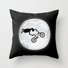 Extreme Terrestrial Throw Pillow