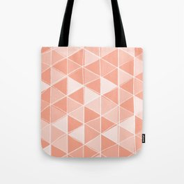 Coral Triangles Tote Bag