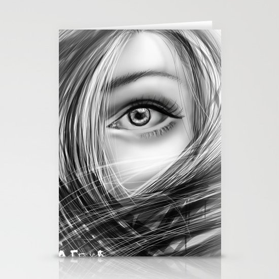 'Coz eye is never lie.... Stationery Cards