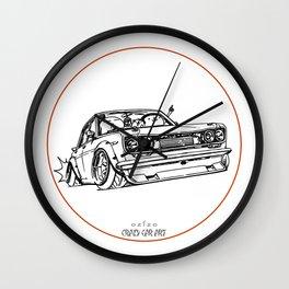 Crazy Car Art 0120 Wall Clock