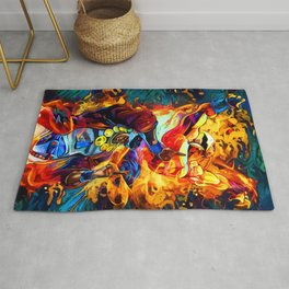 Magician Red Rug