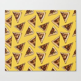 Vegemite on Toast Dreams in yellow Canvas Print