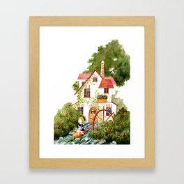 Spring Flood Framed Art Print