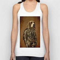 beagle Tank Tops featuring Beagle by Durro