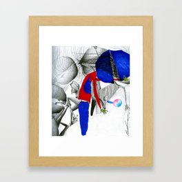 Everything Will Be Alright. Framed Art Print