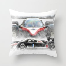 Peugeot 908 Throw Pillow