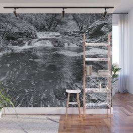 Large waterfall Wall Mural