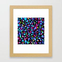 Little drops Framed Art Print
