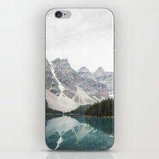 Moraine lake iPhone & iPod Skin