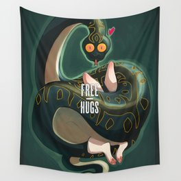 Free hugs Wall Tapestry