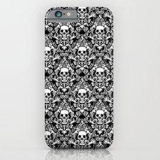 Skull Damask Slim Case iPhone 6s