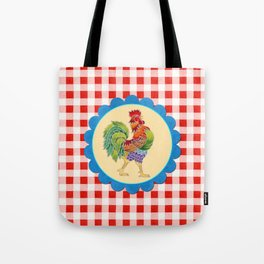 Rise and Shine Rooster Tote Bag