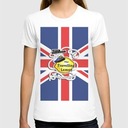 The Travelling Lemon - Union Jack edition T-shirt
