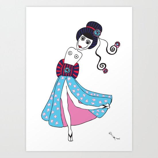 Yume Art Print