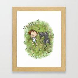 komorebi Framed Art Print