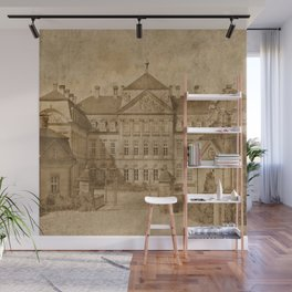 The castle Wall Mural