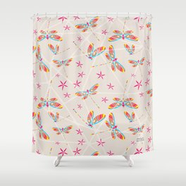 CN DRAGONFLY 1008 Shower Curtain