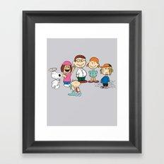 The Griffin Gang Framed Art Print