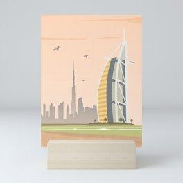 Dubai Mini Art Print