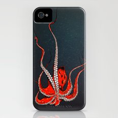Kiss Of The Octopus iPhone (4, 4s) Slim Case