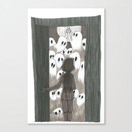 Curious Incorporeals Canvas Print